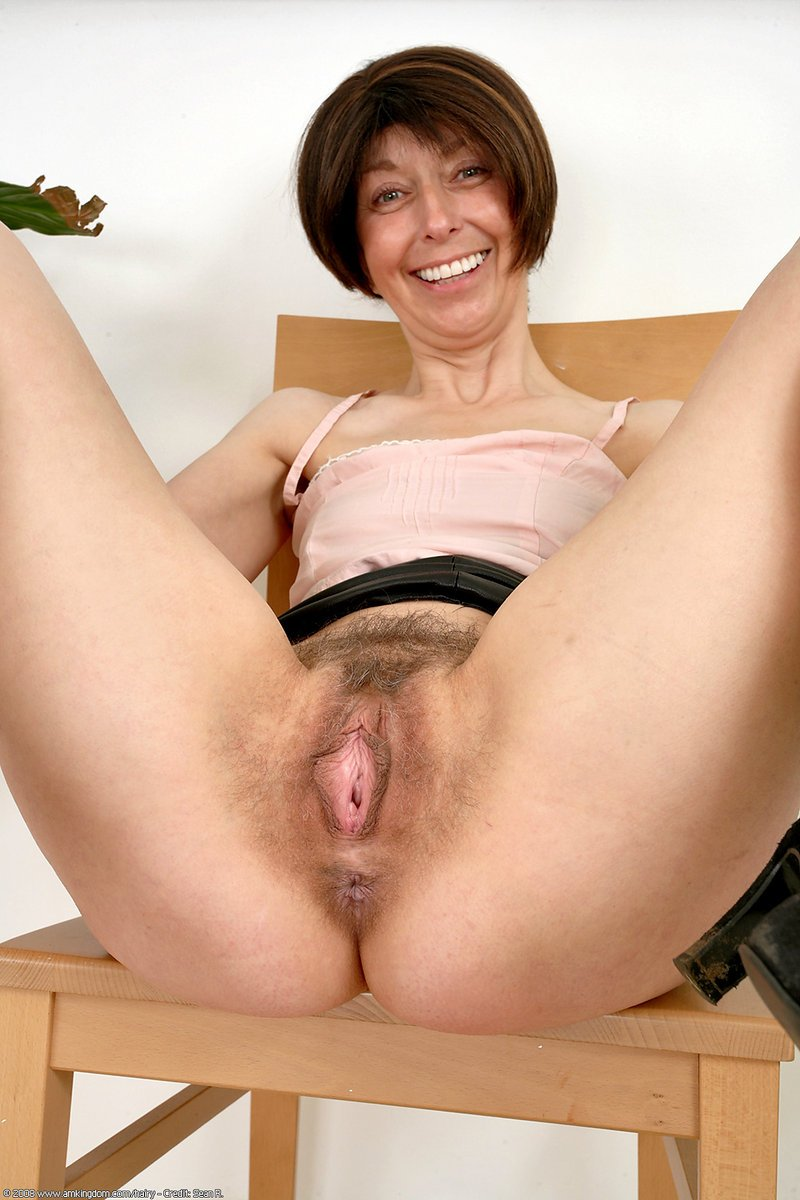 Hairy older women video